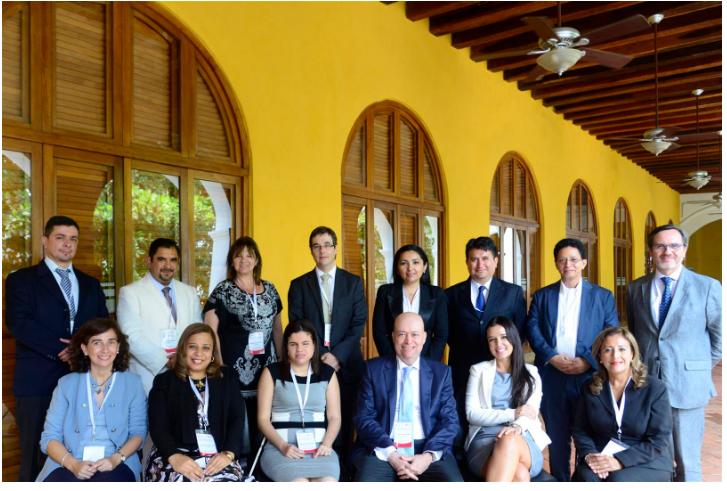 Ministro Vásquez participó en Seminario de Jurisprudencia Constitucional Iberoamericana, en Colombia