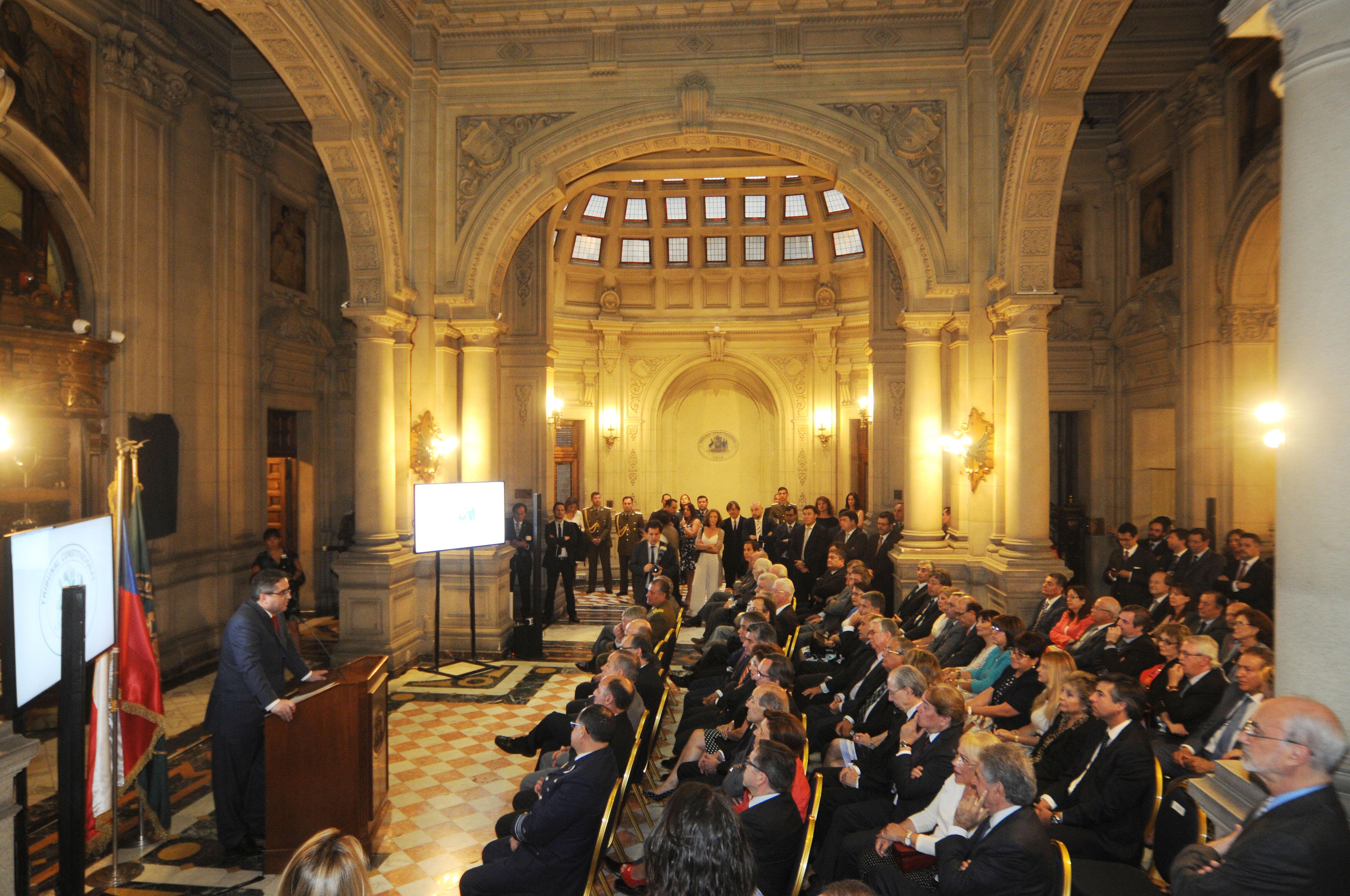 Tribunal Constitucional inaugura su nueva sede