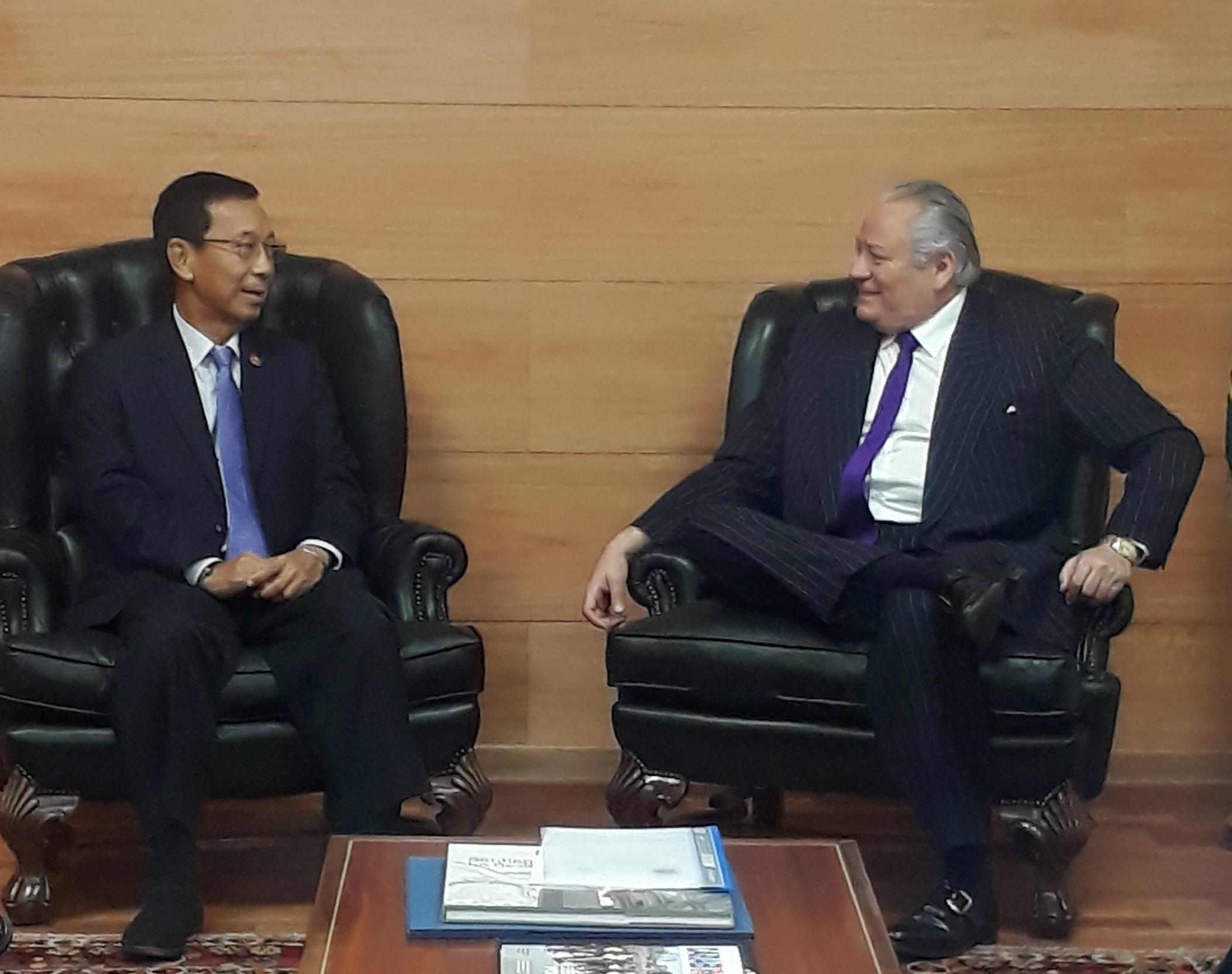 Tribunal Constitucional celebra convenio de colaboración con la Corte Constitucional del Reino de Tailandia