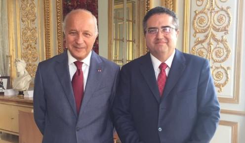 Presidente Carlos Carmona se reúne con Presidente del Consejo Constitucional francés