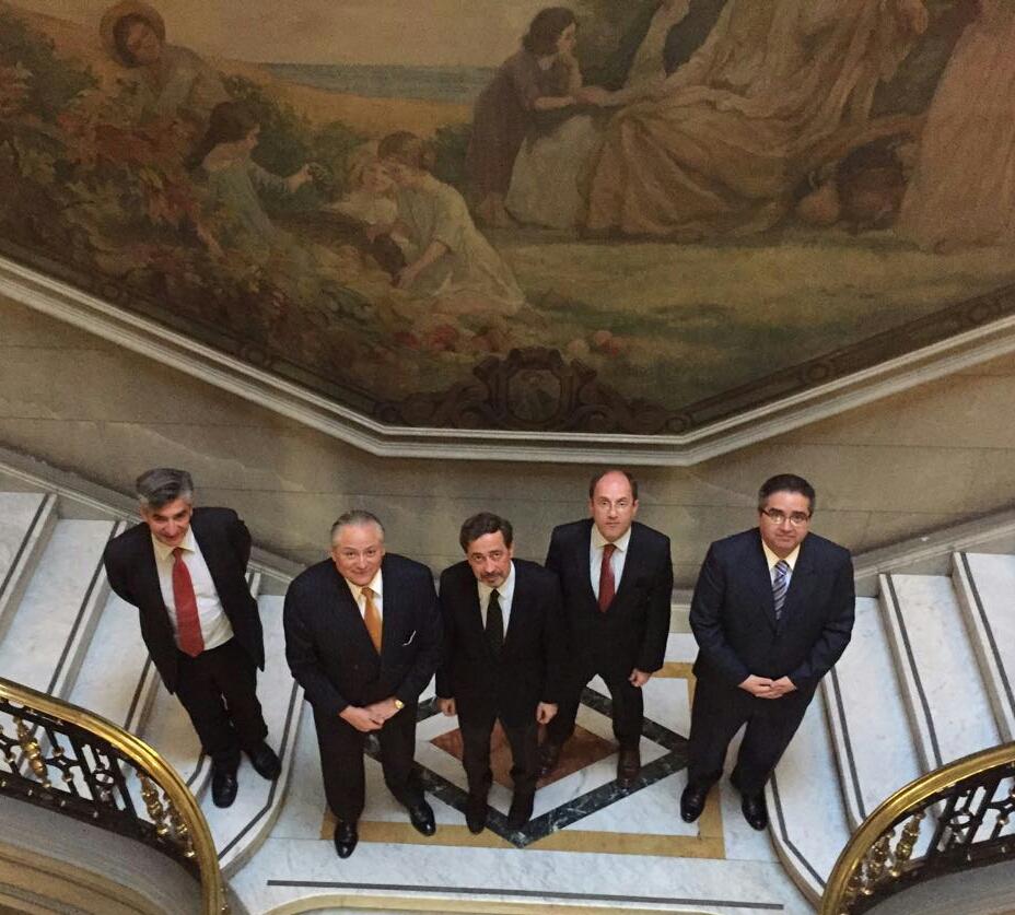 Pleno recibió al señor Juan Carlos Bayón, profesor de la Universidad Autónoma de Madrid