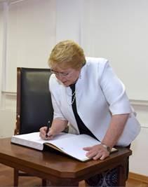 Visita Presidente Bachelet (2)