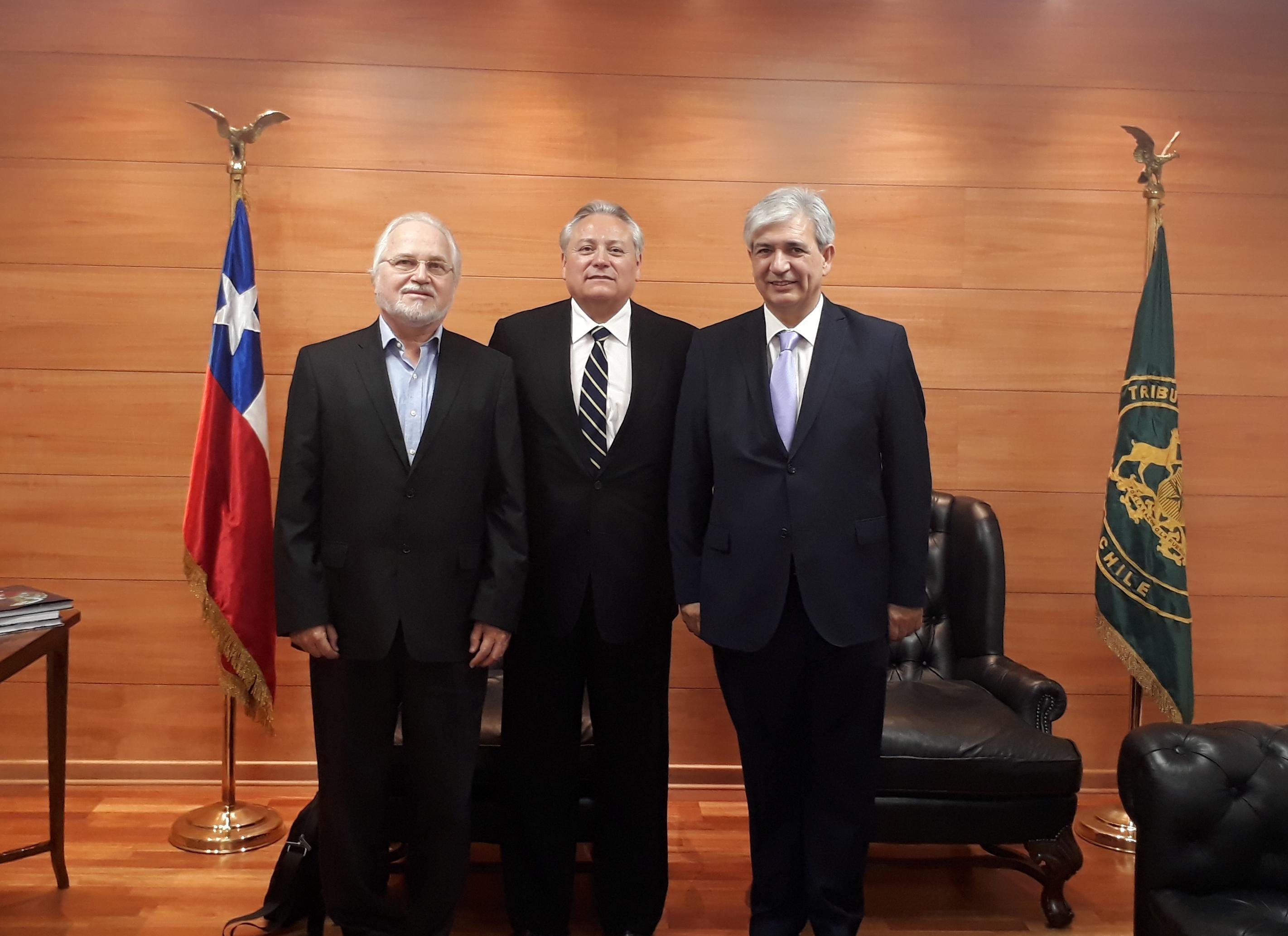 Pleno recibió al señor Francisco Eguiguren Praeli, Presidente de la Comisión Interamericana de Derechos Humanos