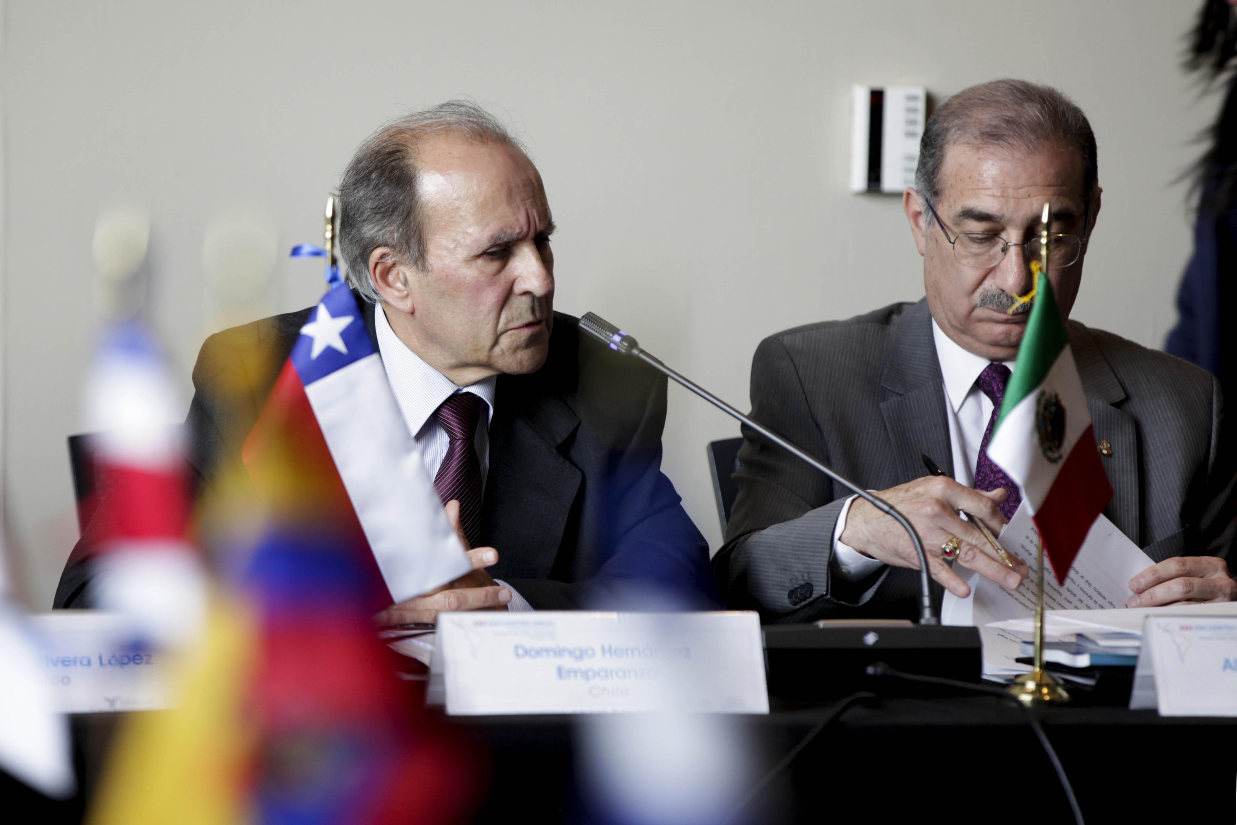 Ministro participa en el XXII Encuentro Anual de Presidentes y Magistrados de Tribunales, Cortes y Salas Constitucionales de América Latina
