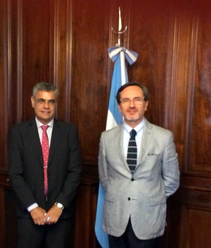 Ministro José Ignacio Vásquez realiza comisión de servicio