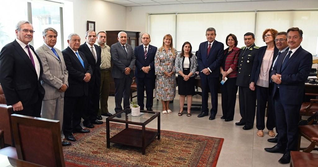 Ministro Cristián Letelier Aguilar asiste a inauguración de nuevo edificio de la Corte de Apelaciones de San Miguel.