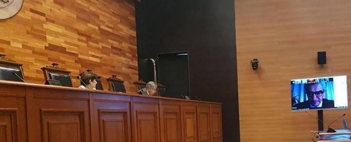 Tribunal Constitucional realiza con gran éxito sesiones remotas de vista de causas en Tabla para esta jornada