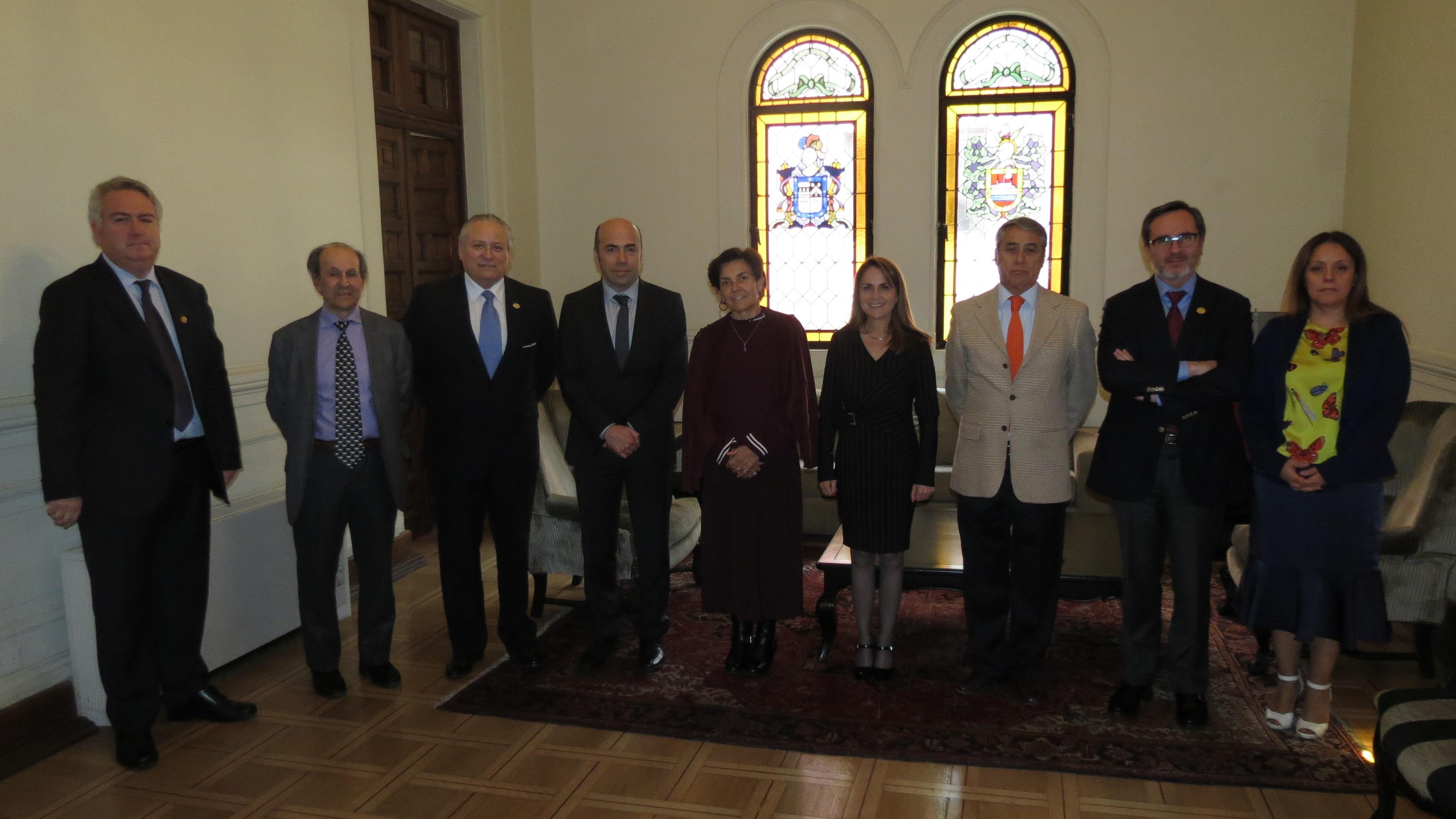 Contralor General de la  República visitó el Tribunal Constitucional