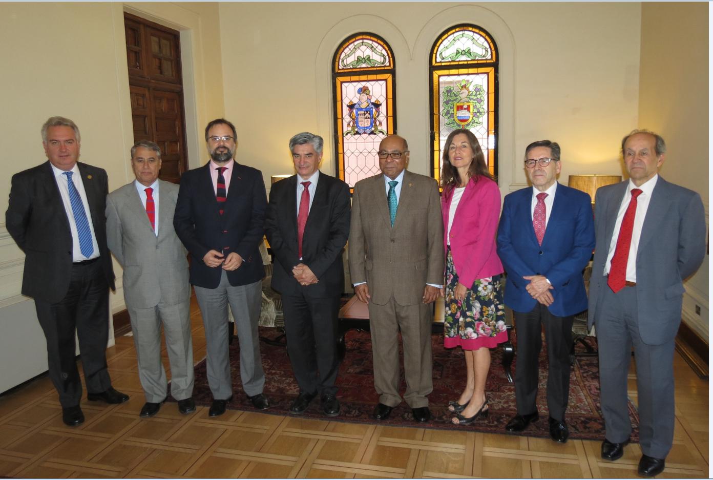 Presidente del Tribunal Constitucional de la República Dominicana visita nuestra Magistratura