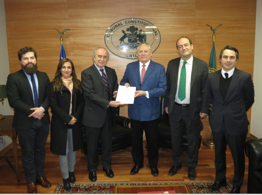 Constitucionalistas entregan informe con propuestas de reforma al Tribunal Constitucional