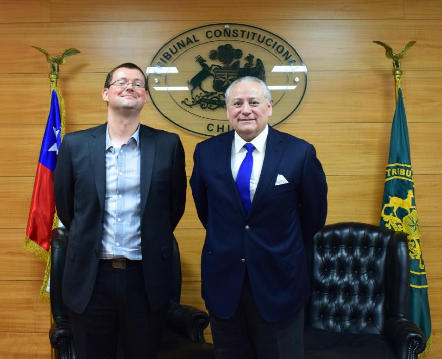 Ministro del Consejo de Estado de Bélgica visita el Tribunal Constitucional