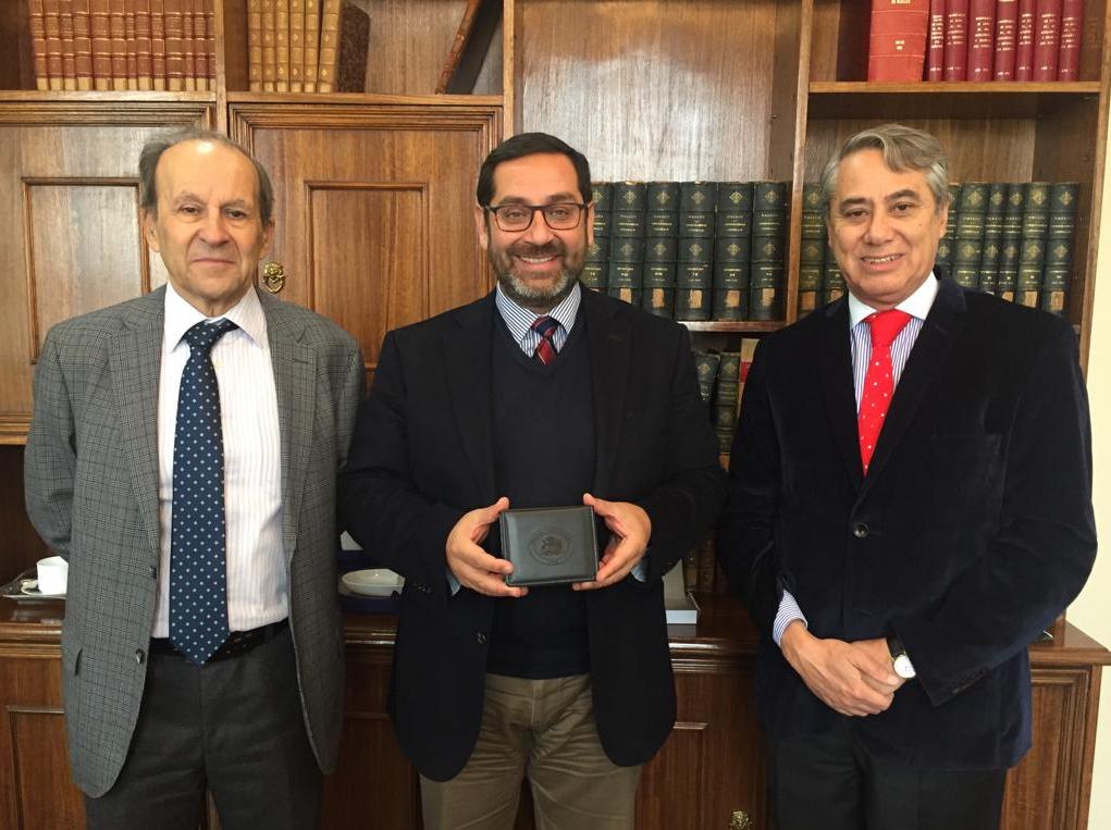 Ministros Domingo Hernández y Cristián Letelier visitan Corte de Apelaciones de Concepción