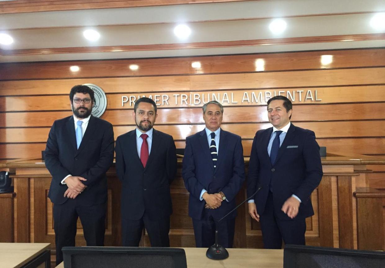 Ministro Cristián Letelier Aguilar dictó conferencia en Primer Tribunal Ambiental en Antofagasta