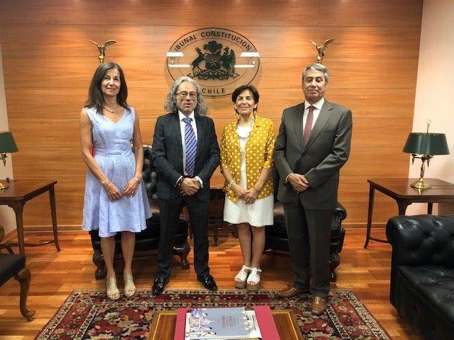 Tribunal Constitucional y Corte de Apelaciones de Valdivia firman Convenio de Cooperación