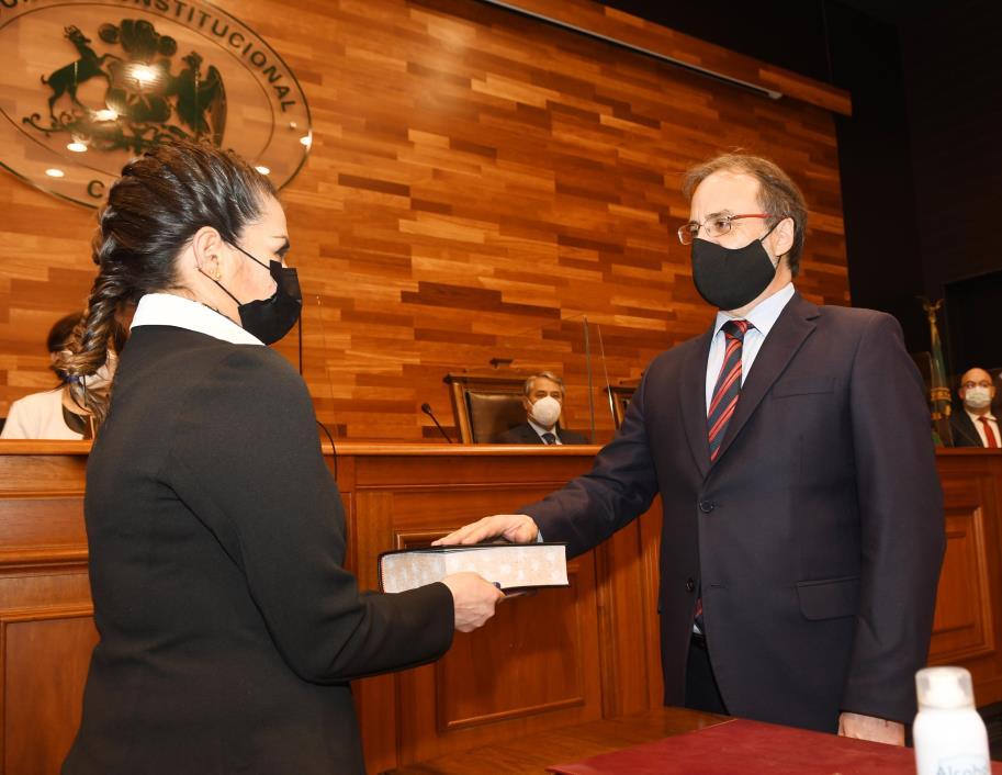Juramento Presidente Romero