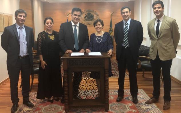 Tribunal Constitucional y Servicio de Impuestos Internos firman Convenio de Cooperación