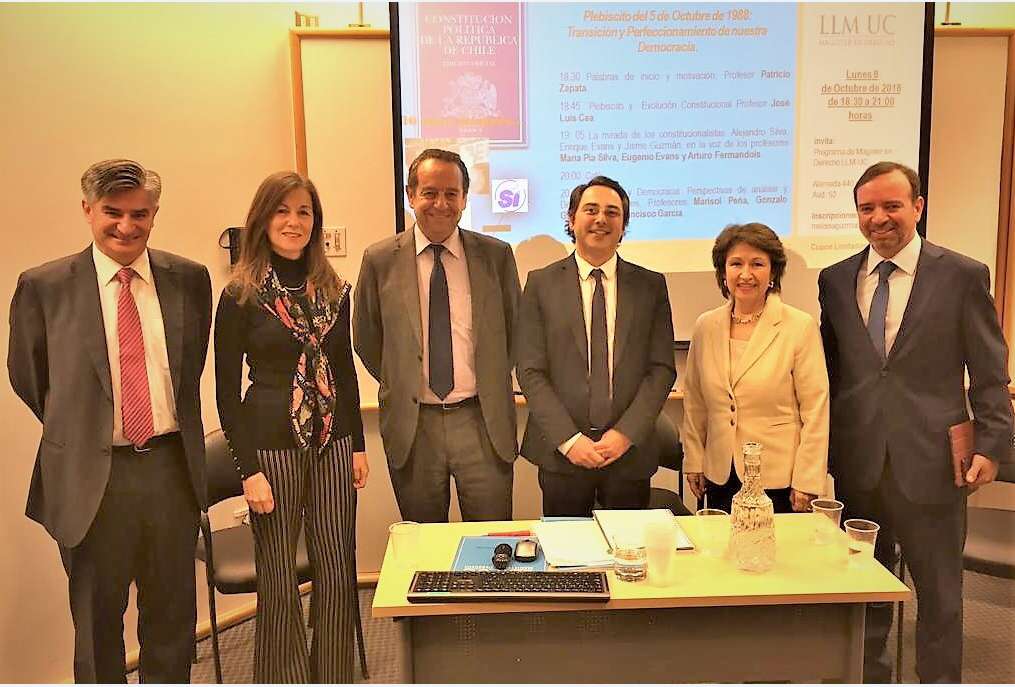 Ministro señor Gonzalo García P. y Ministra señora María Pía Silva G. exponen en seminario